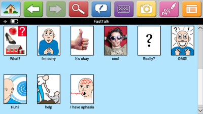 FastTalk Page Screenshot
