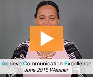 June 2018 ACE Webinar