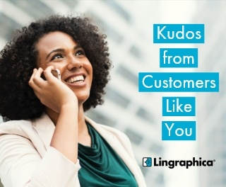 Kudos from Customers Like You - October