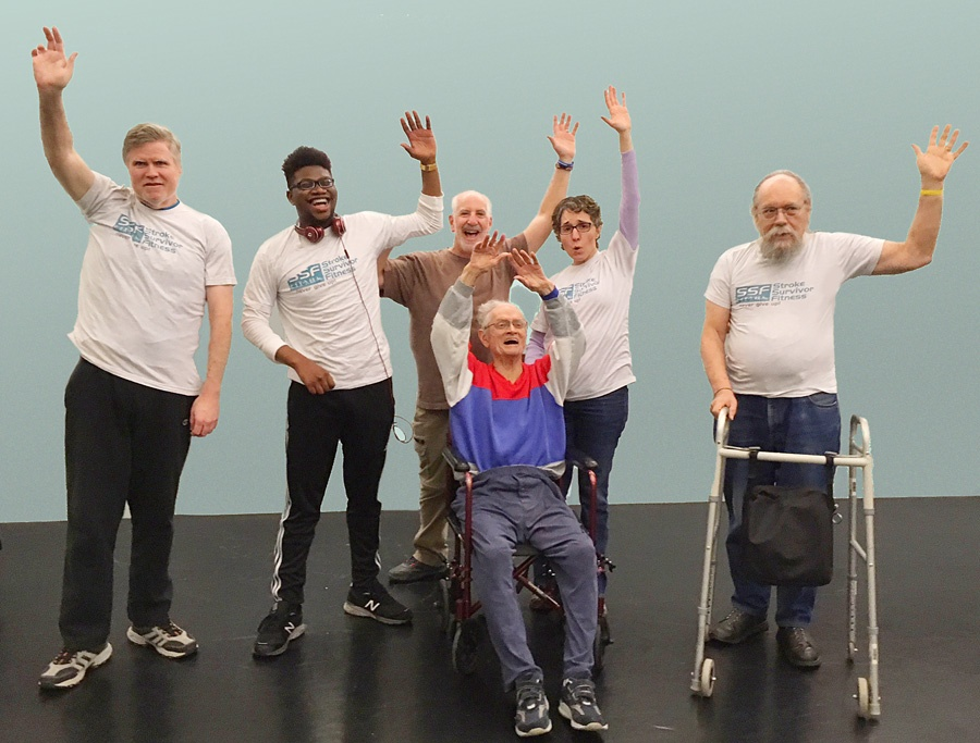 Work Out Your Words: A Stroke Survivor Fitness Class